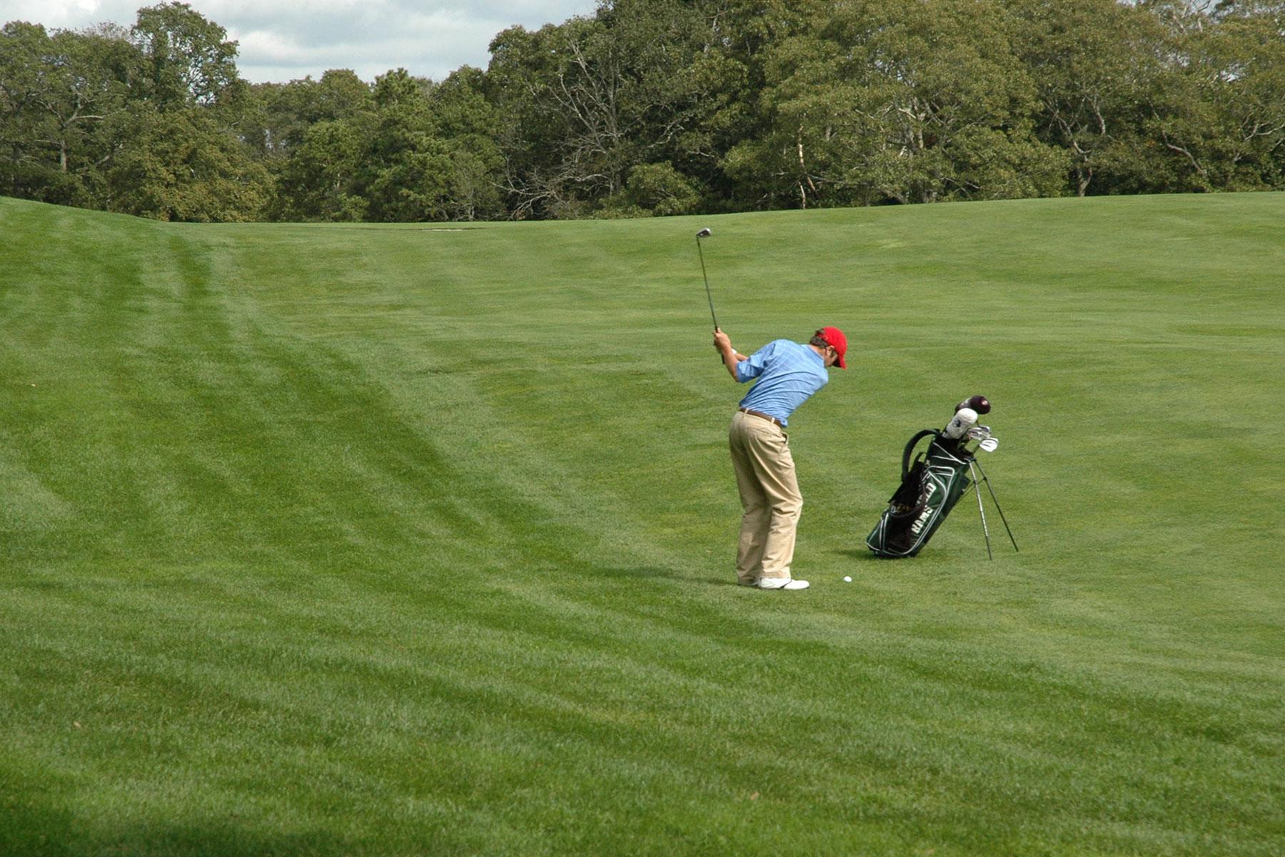 Cape Cod golfer