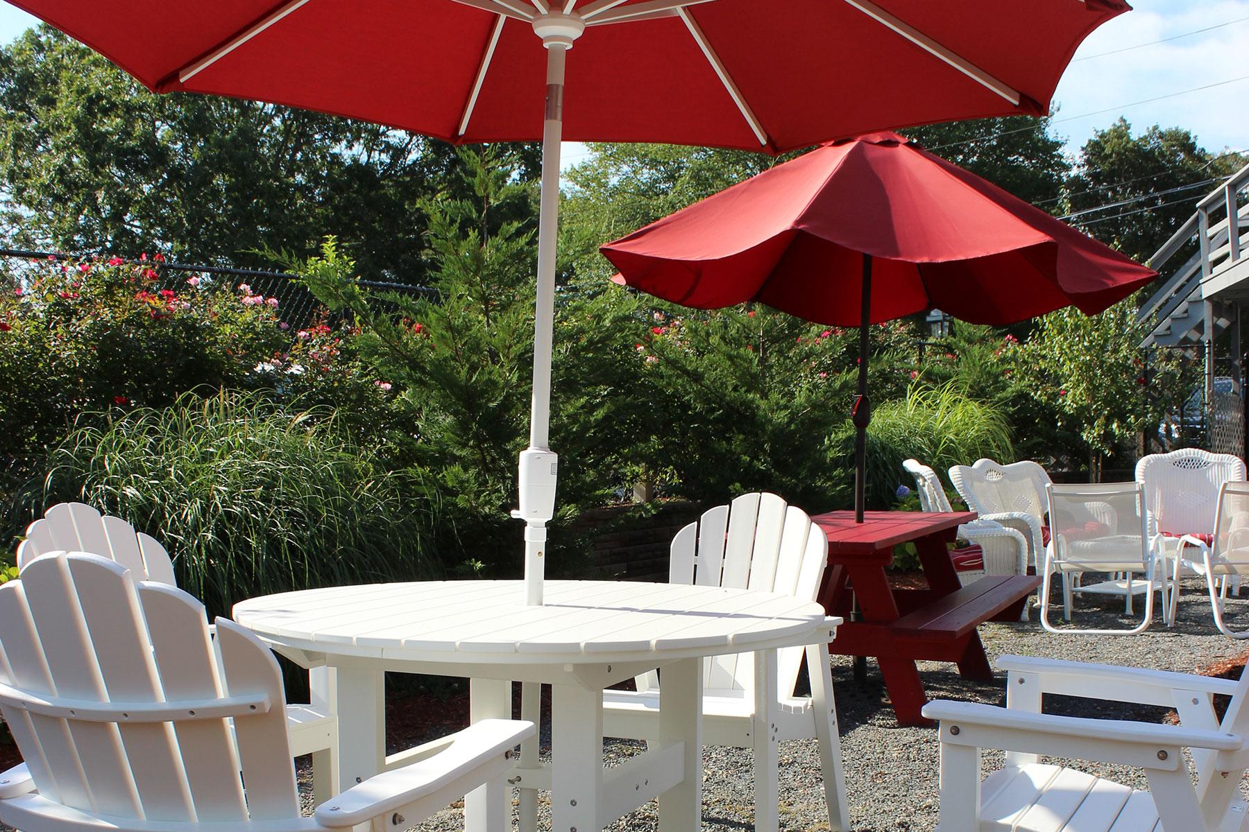Cape Cod Hotel patio