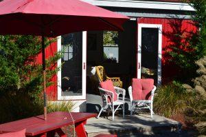 Falmouth Inn patio