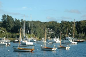 falmouth harbor sailboats